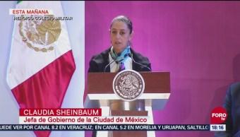 PF se integra a reuniones de seguridad en CDMX, anuncia Sheinbaum