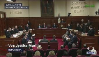 Presidente de la SCJN defiende independencia de Poder Judicial