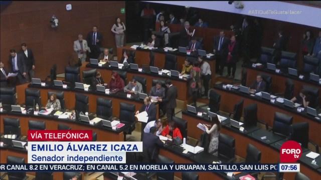 Prevención preventiva oficiosa, igual que el arraigo, dice Emilio Álvarez Icaza