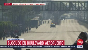 Protesta En Circuito Interior Afecta A Pasajeros De Aicm, Protesta, Circuito Interior, Pasajeros De Aicm, Alcaldes Del Prd, Aeropuerto Internacional De La Ciudad De México (Aicm)