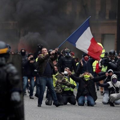 Kremlin niega implicación en las protestas de los 'chalecos amarillos', en Francia