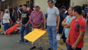 Paros y bloqueos en Tabasco por falta de pagos y aguinaldos