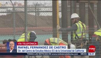 Rafael Fernández de Castro habla del presupuesto de EU