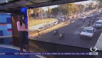 Reabren circulación en Río Churubusco tras choque que dejó 2 muertos