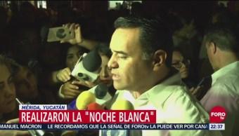 """Realizaron La """"Noche Blanca"""" En Mérida, Yucatán, Noche Blanca, Mérida, Eventos Culturales, Eventos Culturales Más Importantes De Nuestro País"""