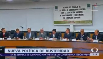 Rector UNAM y director IPN devolverán parte de sus salarios