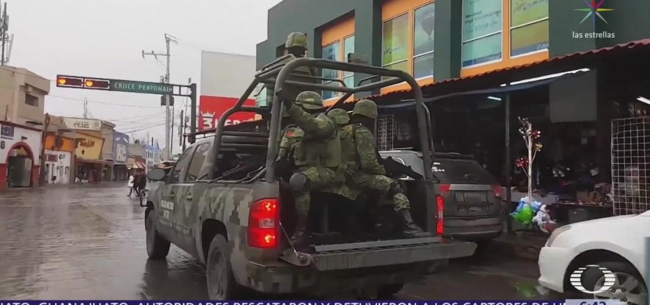 Refuerzan seguridad en Chihuahua y Veracruz