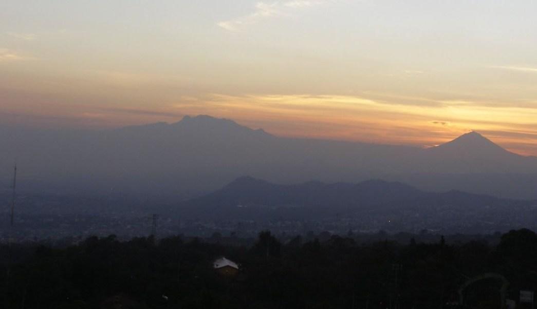 Foto: Panorámica del Valle de México; hay regular calidad del aire, 9 febrero 2019
