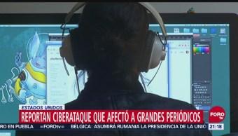 Reportan Ciberataque Afectó Grandes Periódicos EU
