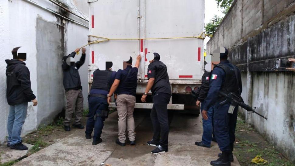 Rescatan a 138 migrantes centroamericanos en Tabasco