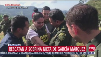 Rescatan Sobrina Nieta Escritor García Márquez