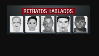 Retratos Hablados Delincuentes Asaltantes Metro CDMX Robo