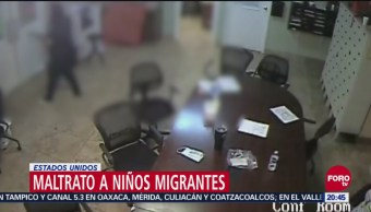 Revelan Video De Maltrato A Niños Migrantes, Video De Maltrato A Niños Migrantes, Centro De Detención, Condado De Maricopa, Arizona, Estados Unidos