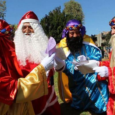 Reyes Magos llegan a la tradicional romería en la alcaldía Cuauhtémoc