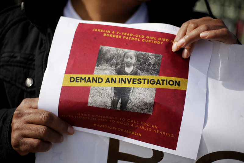 familia de niña migrante fallecida niega que no haya comido durante dias