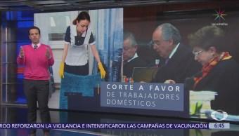 SCJN ordena al IMSS otorgar seguridad social a trabajadoras domésticas