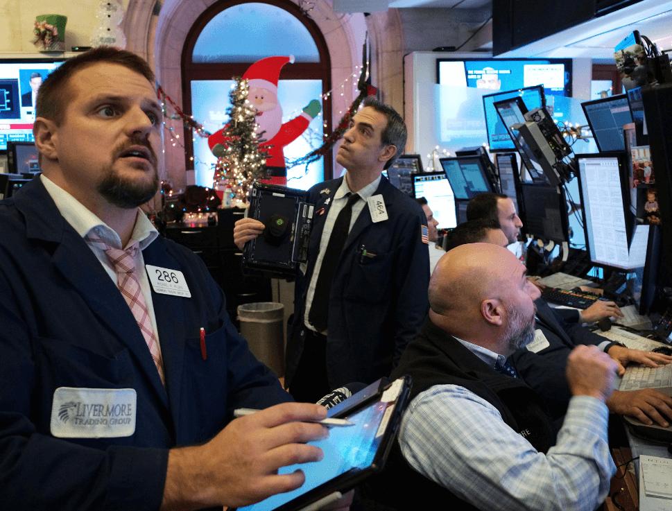 Se registra caída en Wall Street. (AP)