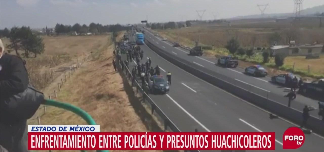 Se registran enfrentamiento con presuntos huachicoleros en Toluca