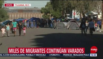 Secundaria de Tijuana sin clases por crisis de migrantes