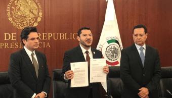 Senado recibe iniciativa para eliminar fuero presidencial