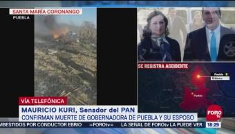 Senadores PAN Consternados Muerte Moreno Valle