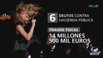 Shakira, acusada de fraude fiscal en Barcelona