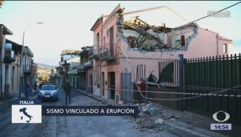 Sismo deja diez heridos en Italia