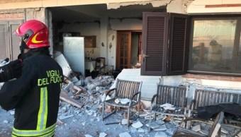 Italia: Terremoto de 4.8 grados sacude Sicilia; deja 10 heridos y derrumbes
