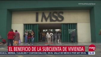 Subcuenta de vivienda para trabajadores afiliados al IMSS