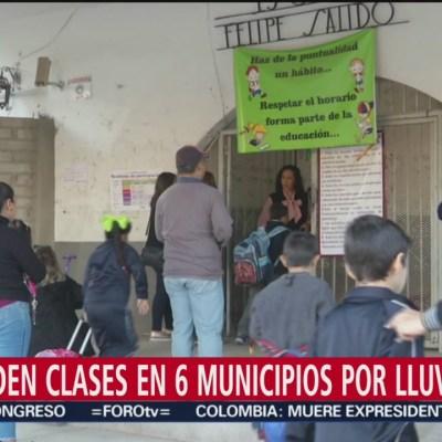 Suspenden clases en 6 municipios de Sinaloa por frío