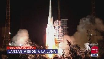 Todo Pasa en China: Lanzan misión a la luna