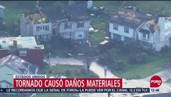 Tornado azota poblado en Washington y causó daños 50 inmuebles