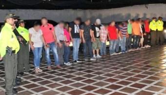 Colombia y EU desarticulan redes de 'tragabilletes'
