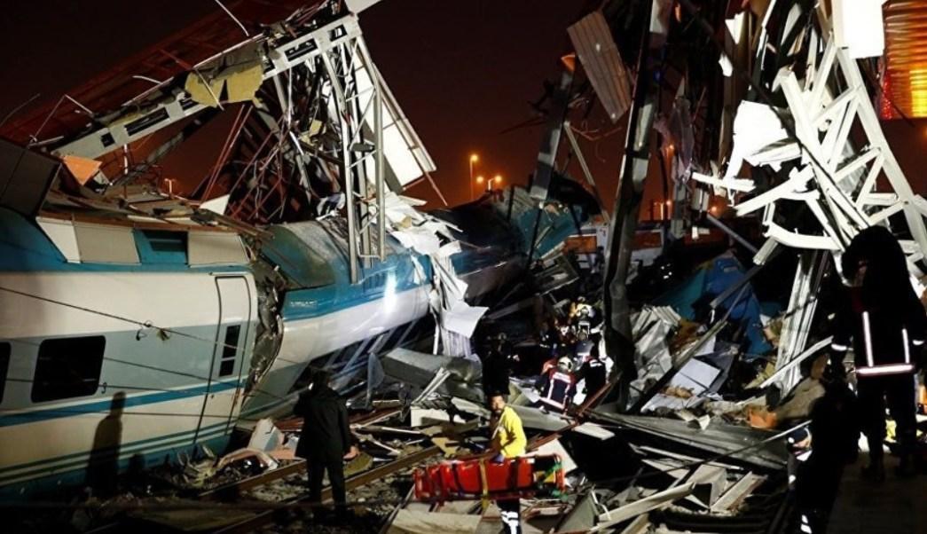 Accidente ferroviario en Turquía deja al menos tres muertos y 43 heridos