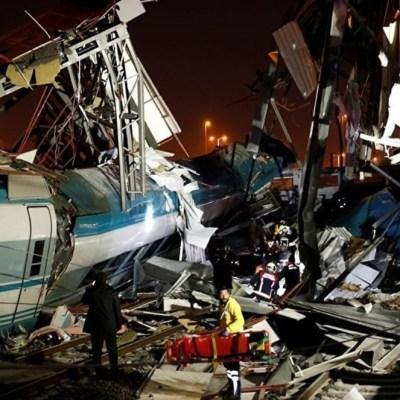 Accidente ferroviario en Turquía deja al menos cuatro muertos y 43 heridos