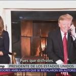 Trump arruina la Navidad a una niña