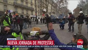 Trump Atribuye Protestas De París Al Acurdo Sobre Cambio Climático, Trump Atribuye Protestas De París Al Acurdo Sobre Cambio Climático, Donald Trump, Presidente De Estados Unidos, Twitter, Manifestaciones En Francia, Impopularidad Del Acuerdo De París