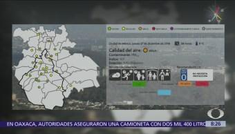 Valle de México amanece con mala calidad del aire