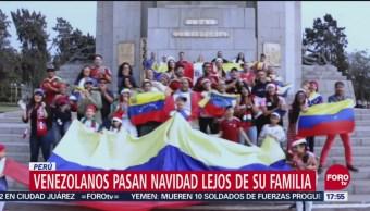 Venezolanos Celebran Navidad Lejos De Familias