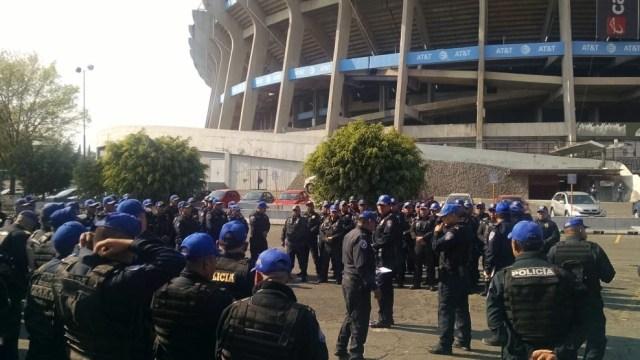 Cinco mil policías vigilan el Azteca por Cruz Azul-América