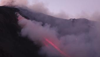 Video: Así entró en erupción el volcán Etna