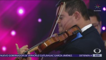 Violinista con Síndrome de Down vence obstáculos y se vuelve concertista