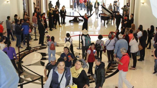 Complejo Cultural Los Pinos suma 180 mil visitantes en una semana