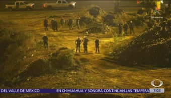 25 detenidos por cruce masivo de migrantes de Tijuana a EU