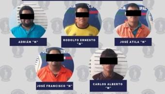 Detienen a cinco por robar tubería de Pemex en Tabasco