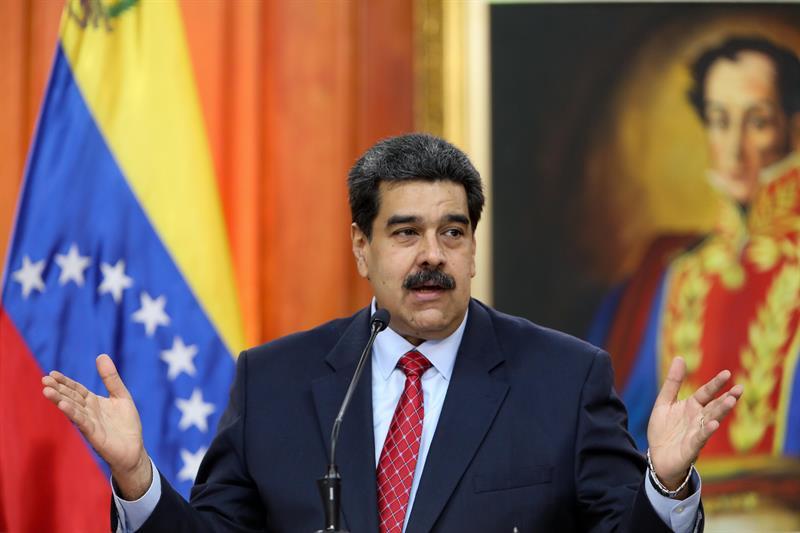 foto nicolas maduro presidente venezuela 25 enero 2019