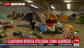 Clausuran Bodega Utilizaba Con Albergue Para Migrantes En Tijuana, Clausuran Bodega, Albergue Para Migrantes, Tijuana, Migrantes Centroamericanos