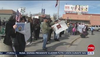 Activistas Crean Frente Común Paso Texas Muro De Trump