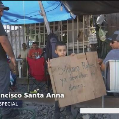 Afectaciones por bloqueos de la CNTE en Lázaro Cárdenas