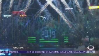 Celebraciones espectaculares en el mundo por la llegada del 2019